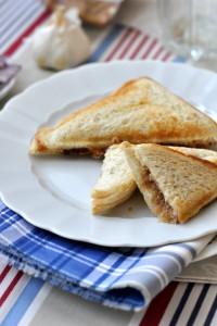 tonhalas melegszenvics - laktózmentes recept