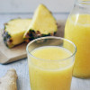 Laktózmentes ananász turmix