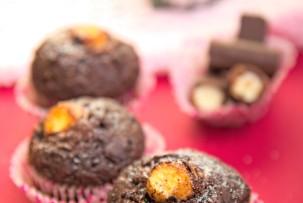 Laktózmentes Túró Rudi muffin