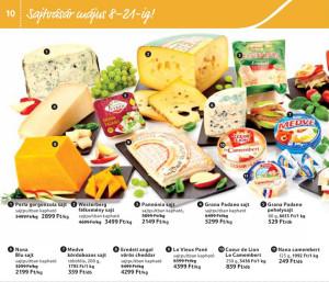 Tesco laktózmentes sajtok akciója