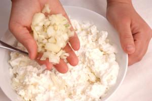 Alternatív túró készítése házilag. Laktózmentes tejmentes.