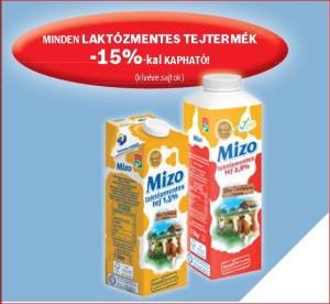 Auchan laktózmentes tejtermék akció