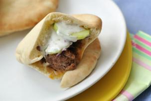 Pita-burger laktózmentes recept