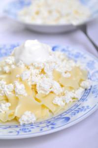 Laktózmentes túrós csusza édesen vagy sós változatban is jó választás