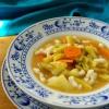 Tejfölös zöldségleves
