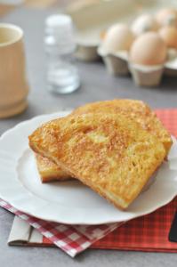 Klasszikus laktózmentes reggeli a bundáskenyér is.