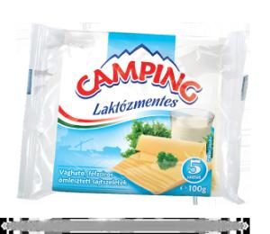 Camping laktózmentes lapkasajt