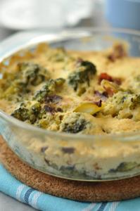 csőben sült brokolli laktózmentes recept