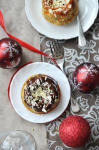 karácsonyi kiskuglóf - gluténmentes sütemény