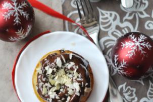 Karácsonyi narancsos-mandulás sütemények - tejmentes kuglóf