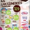 Akciós laktózmentes termékek 2015 január