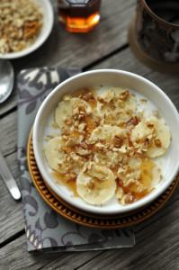 banános gyors reggeli