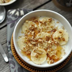 Banános-diós gyors reggeli - 10 perc