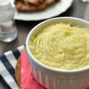 Krumplipüré tejmentes recept