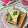 Bazsalikomos köleskrém - laktózmentes szendvicskrém
