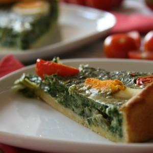 Húsvéti spenótos quiche recept - francia sós pite