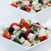 """""""Görög saláta"""" recept laktózmentes """"feta"""" sajttal"""