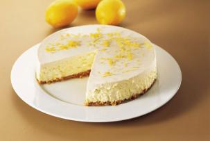 Klasszikus sajttorta - sütés nélkül, laktózmentes