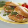 Sajtkrémes lazacos bagel - laktózmentes krémsajttal