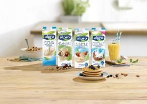 Alpro növényi ital kóstoltatás Auchan akció