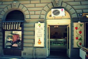 Fragola Fagylaltozó, ahol cukormentes és laktózmentes fagylaltok is kaphatóak.