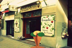 Fragola Ráday utca -laktózmentes fagyizó