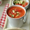 Gazpacho - laktózmentes leves