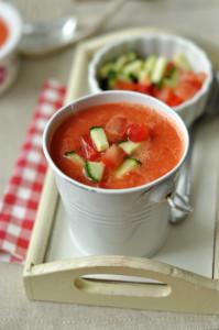 gazpacho laktózmentes leves