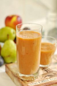 őszi vitaminbomba, tejmentes turmix recept