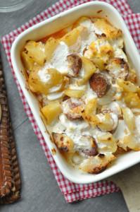 Laktózmentes rakott krumpli recept