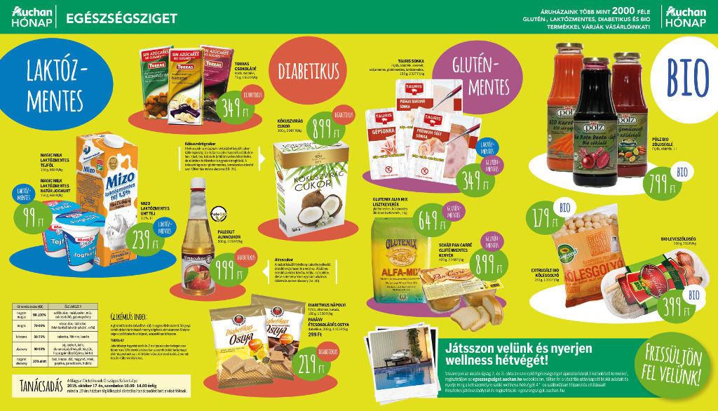 auhcan egészséghét 201510 laktózmentes termék akció