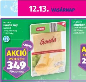 laktózmentes Gouda sajt