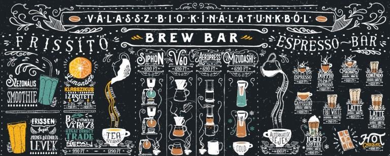 laktózmentes kávézó italválaszték