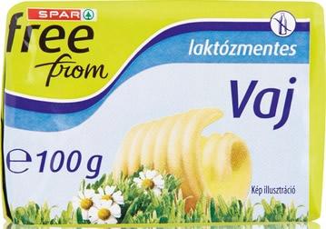 spar freefrom laktózmentes vaj