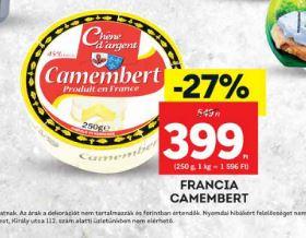 camambert sajt laktózmenets
