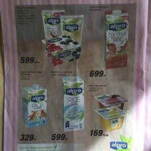 akciós alpro növényi italok tesco 201604