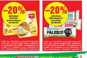 Maxsport laktózmentes termék akció
