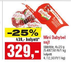 Baybel laktózmentes sajt