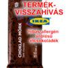 Étcsokoládékat hív vissza az IKEA hibás jelölés miatt