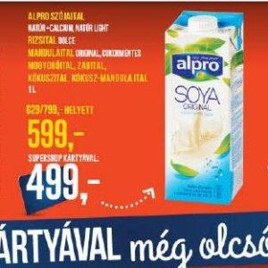 alpro növényi italok tejmentes laktózmentes