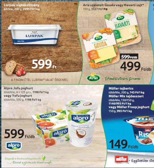 tejmentes növényi joghurtalternatíva, laktózmentes sajt