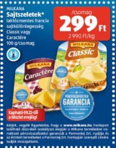 milkana laktózmentes sajt