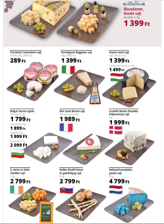 laktózmentes sajtok Auchan