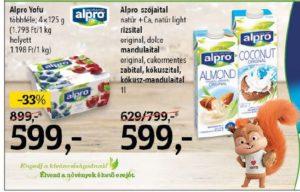alpro növényi italok joghurt alternatívák