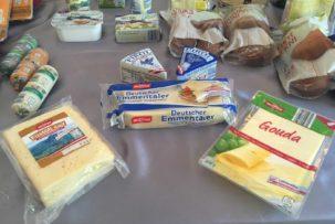 ALDI laktózmentes sajtok