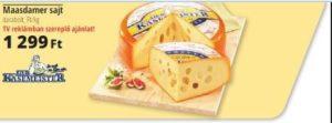 laktózmentes maasdami sajt