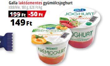 laktózmentes gyümölcsjoghurt Auchan