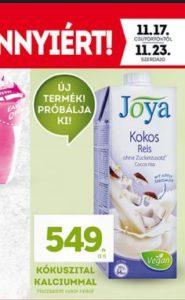 lidl joya növényi ital akció, növényi tej