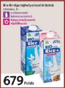 bridge növényi italok, növényi tej
