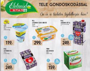 Spar laktózmentes termékek